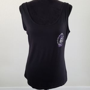 B2G1 Disney Parks Minnie Haunted Mansion Bow Tank